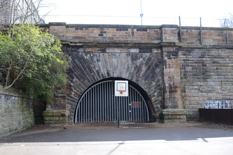 Scotland Street Tunnel, north portal