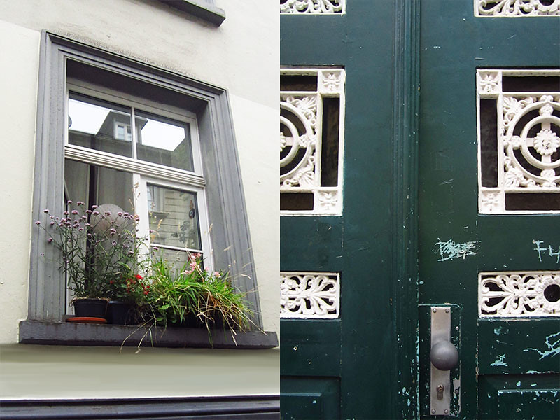 Foto Wuppertal Luisenstraße, Straßendetails