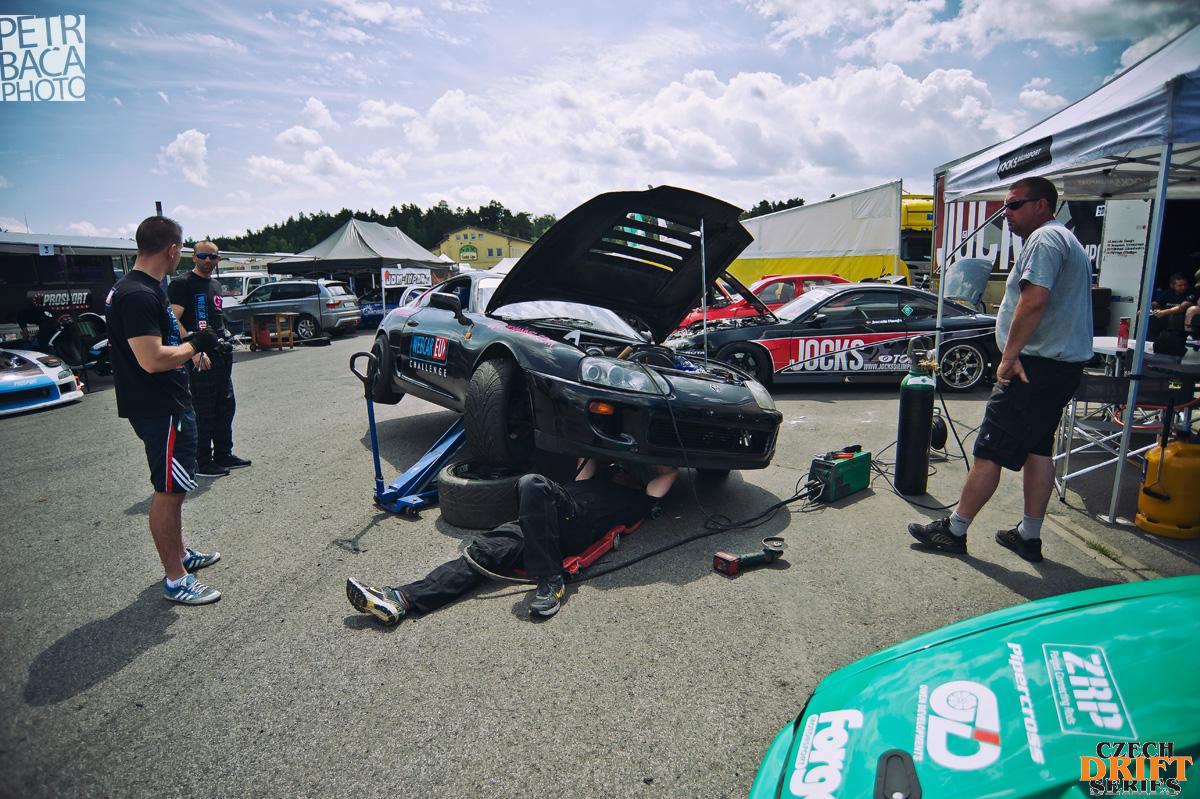 Czech Drift Series, CDS, Drift Allstars, Autodrom Sosnová, Česká Lípa, Toyota Supra