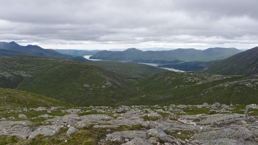 Loch Etive from Beinn nan Aighenan