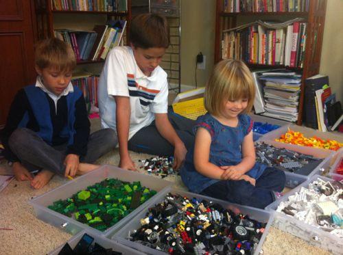 Lego sorting
