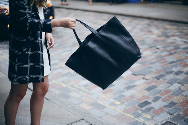 Warehouse Black Tote