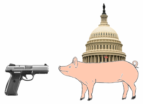 Pistol Packin' Pork Lobbyist