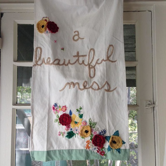 Enjoy your beautiful messy life!