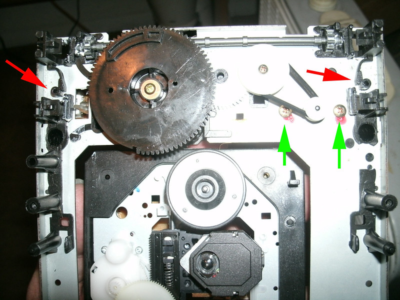 Ebolatone Fixing A Cambridge 640c V1 Cd Player