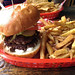 Tallboys Craft Beer House - the burger and fries
