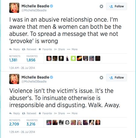 Beadles tweets2