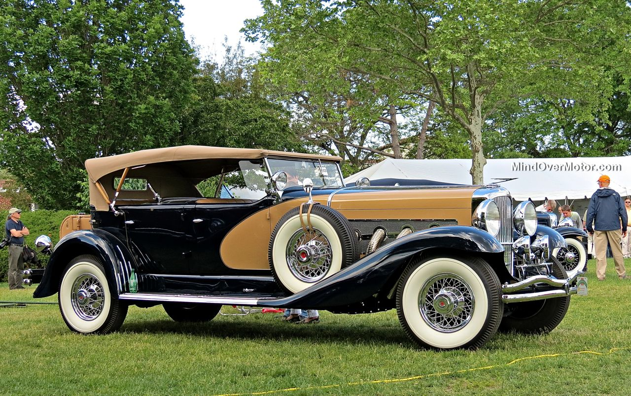 1935 Duesenberg SJ562 at the 2014 Greenwich Concours d'Elegance