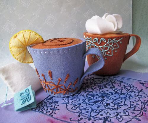 I love coffee ❤︎ I love tea