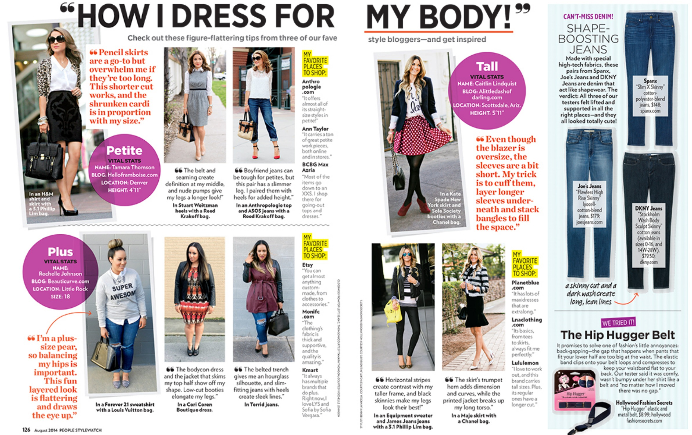 People Style Watch Spread Hello Framboise August 14 Issue