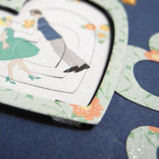Sneak of Two Hearts Card