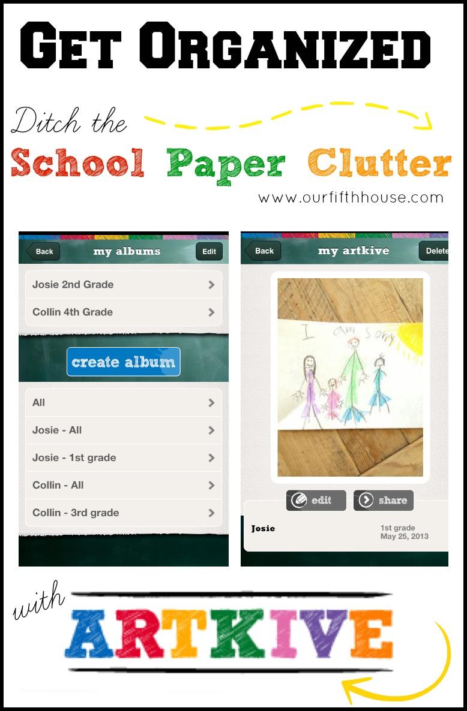 School Paper Clutter