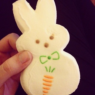 I adore peeps #peeps #bunny #marshmallow #mallow #candy