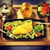 Jantar colorido!  #colorfulfood