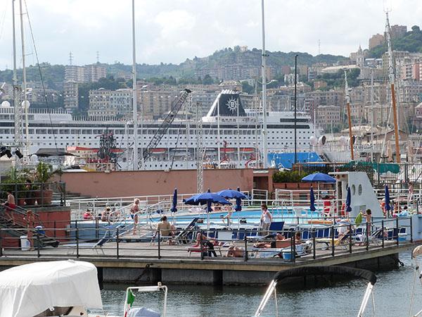 piscine sur le port