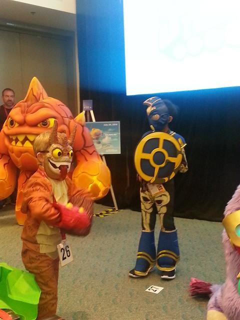 Skylanders at San Diego Comic-Con 2014