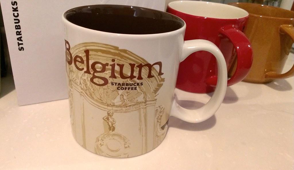 Belgium Starbucks mug