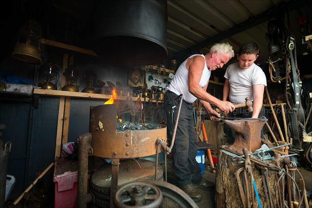 Ben Burke - Blacksmith and His Apprentice TMP_1802