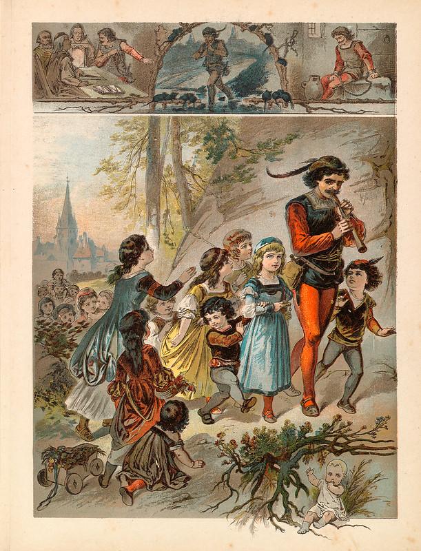 009-El flautista de Hamelin-Aardige sprookjes- Nationale bibliotheek van Neederland