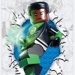 DC Comics LEGO Green Lantern Corps #36