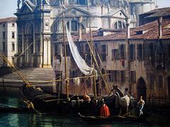 sailing ship(0.0), cityscape(0.0), gondola(0.0), tall ship(0.0), vehicle(1.0), mast(1.0), watercraft(1.0), canal(1.0), boat(1.0), waterway(1.0),