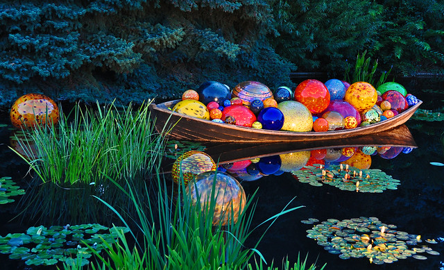 Chihuly 'Float Boat' (8)