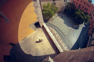 Image of Torres de Quart. people españa valencia spain europa europe gente maria fisheye es 8mm ojodepez tiltshift mariya picado comunidadvalenciana torresdequart torresdecuart mariyaprokopyuk