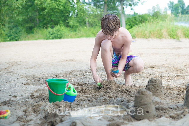 Family fun at Baxter Beach conservation area