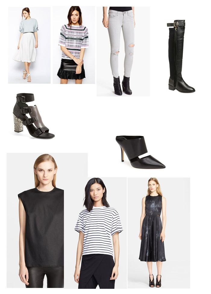 Fringe of the Cro | Fall Sale Shopping Guide for a Monochrome Wardrobe