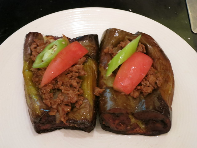 IMG_1073: Turkish Stuffed Eggplant at Shangri-La Hotel Makati