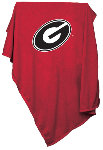 Georgia Bulldogs NCAA Sweatshirt Blanket