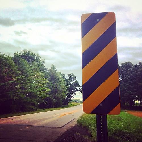 #sign #stripes #road #lynnfriedman