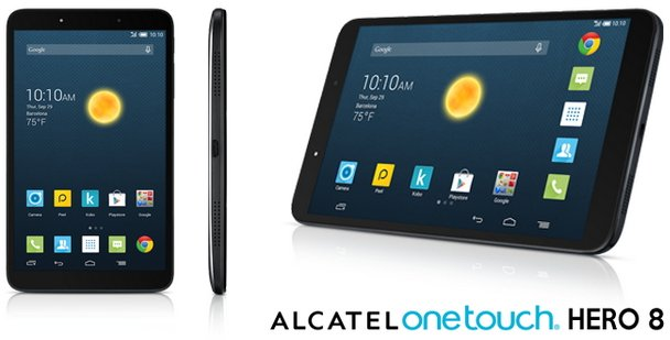 Планшет Alcatel OneTouch Hero 8