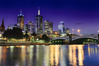 Melbourne & Blue Hour