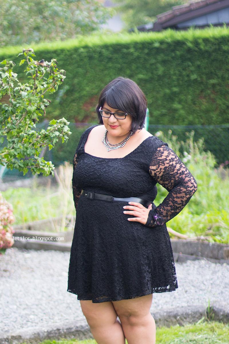 Letilor , asos curve , lace dress