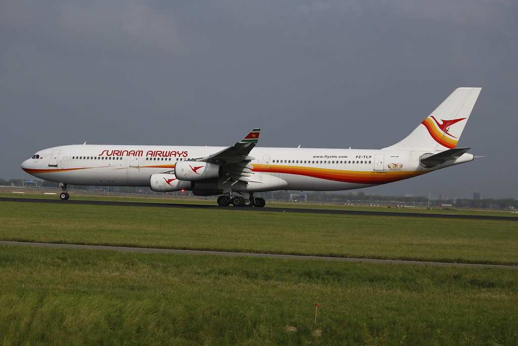 Surinam Airways A340-300 (reg. PZ-TCP)