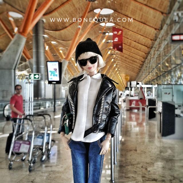 Aeropuerto Adolfo Suárez. T4 & Barbie