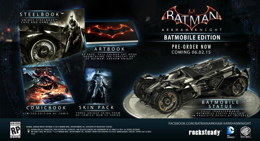Batman Arkham Knight Limited Edition