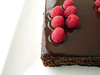 Chocolate Almond Raspberry Cake