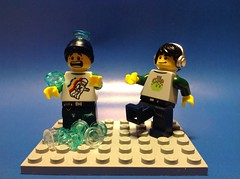 My favorite Minifigure's ALS Ice Bucket Challenge