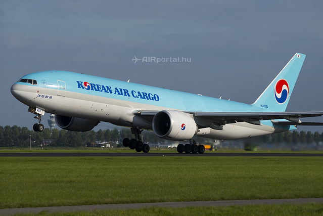 Boeing 777F rendelés: fiatalít a Korean Air Cargo