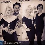 Tänään Tribute Marilyn Monroe -shown jälkeen taas mahdollisuus kuvauttaa itsensä Marilynin aka Suzie Kennedyn kanssa ja voittaa Show & Dinner -liput!   #casinohelsinki #casinoshowdinner #helsinki #marilynmonroe #repost @suziekennedy   ---  Aftershow pics