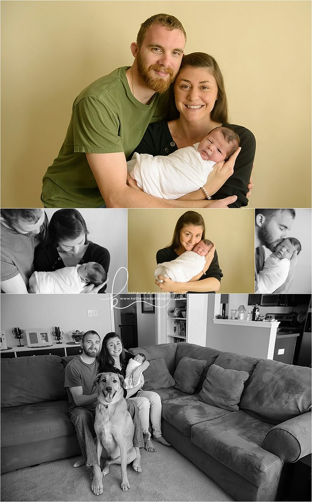 Beautiful Fayetteville NC In Home Newborn Photographer