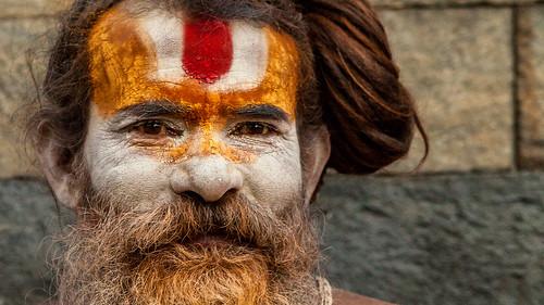 nepal portrait temple kathmandu hinduism baba babu sadhu tempel pashupatinath