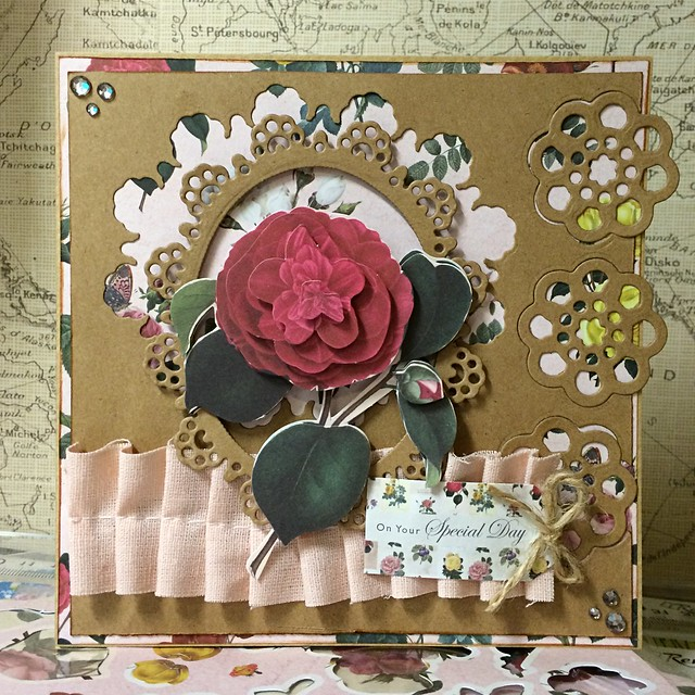 Botanicals cards - rose