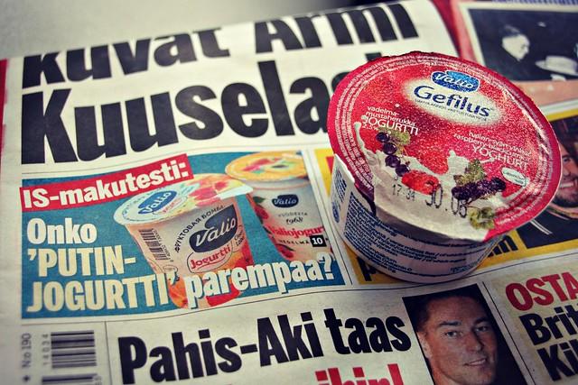 Onko Putin-jogurtti parempaa?