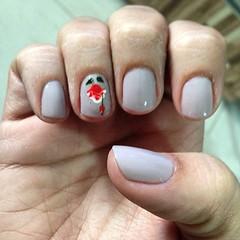 demorou dessa vez, mas essa semana vou assim! #preguica #nails #nailart @topbeautyoficial #amarula