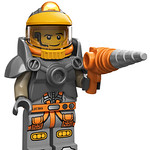 LEGO Collectable Minifigures Series 12 - Space Miner