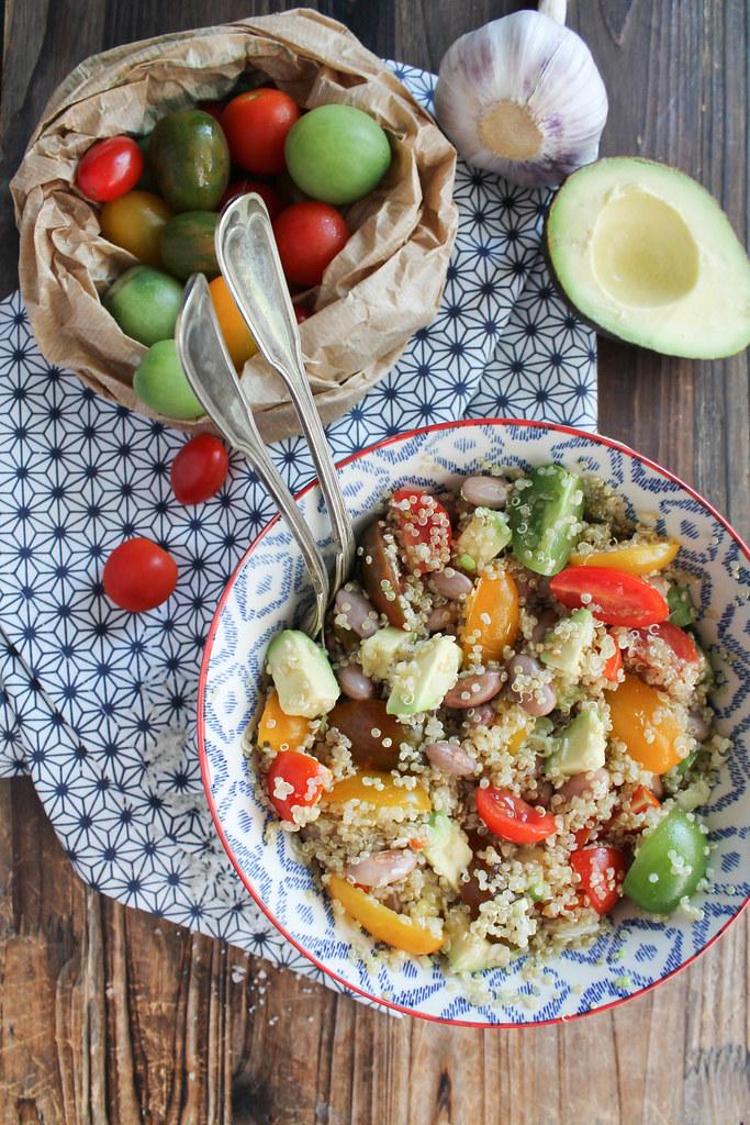 recette de salade de quinoa