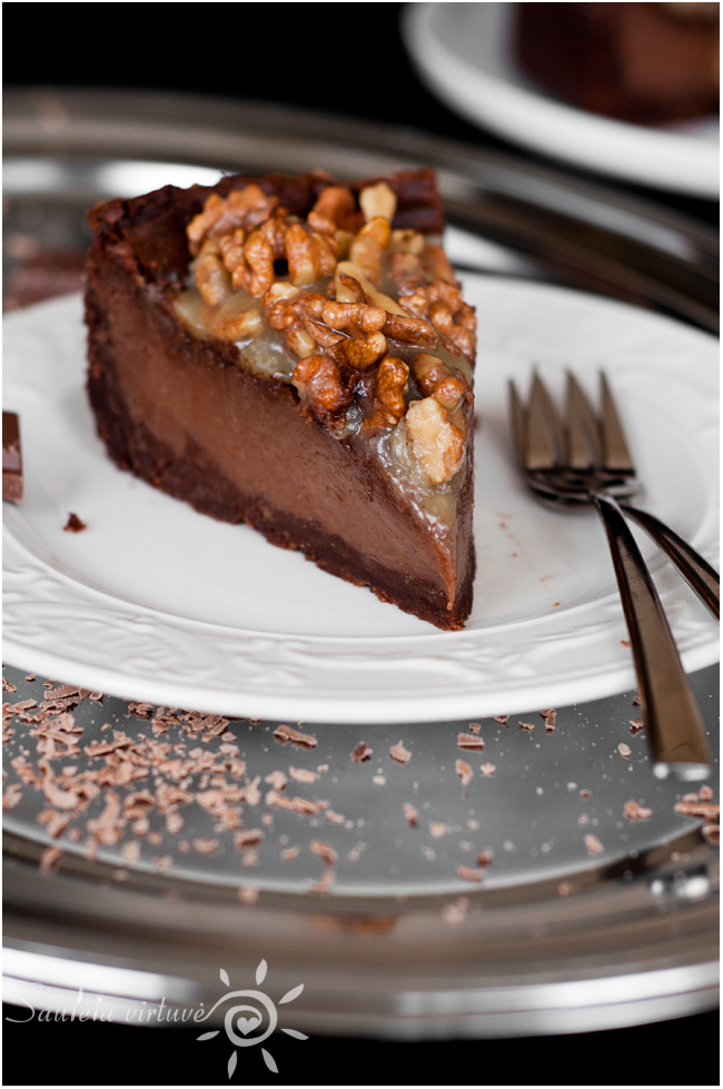 Pieniško šokolado sūrio tortas (5)
